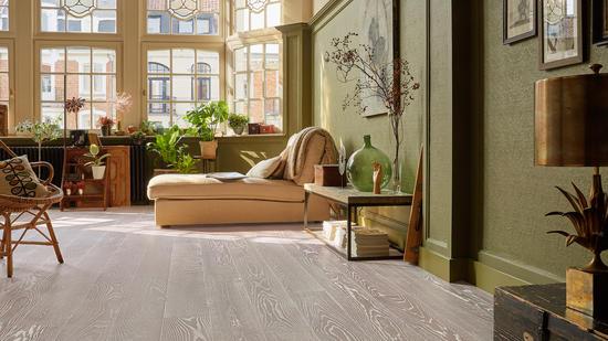 Vintage Engineered Wood Flooring Home