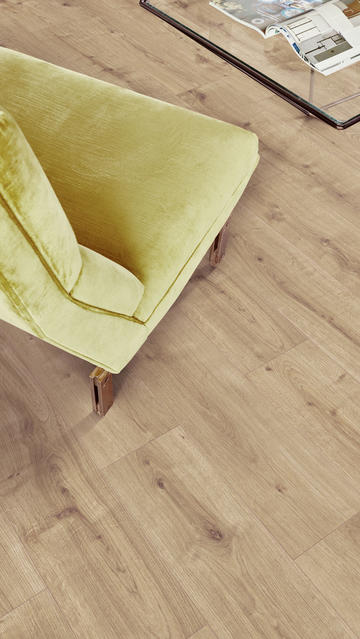 Essentials Laminate Flooring Collection, Yellow Laminate Flooring